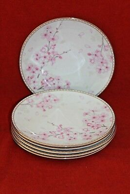 """Wedgwood ~ Spring Blossom ~ 8"""" Plates X 6..first Quality"""