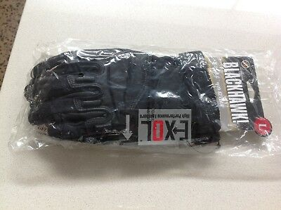 Blackhawk SOLAG Made with Kevlar Assault Gloves 8114LBK Large Black Authentic