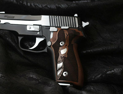 Sigsauer P228 229 Walnut Grip