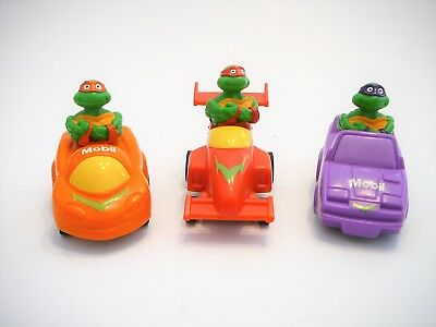 Vintage 1990 Teenage Mutant Ninja Turtles TMNT Mobil Cars