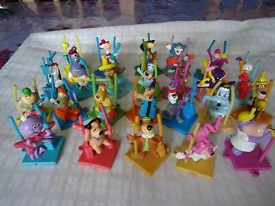 Complete Collection 24 Figures With Hanna-Barbera Character, Don Gato, Yogi