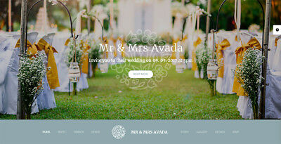 *** A stunning Website for your Wedding ***