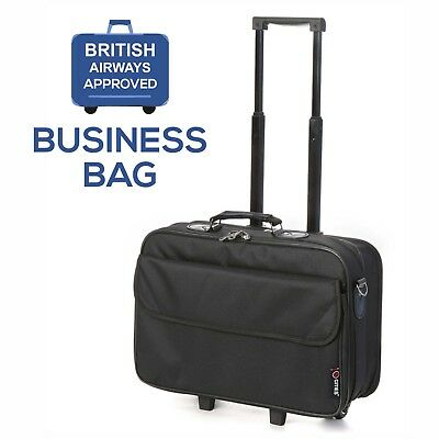 """BA 17"""" Executive Business Laptop Bag Approved Cabin Hand Luggage"""