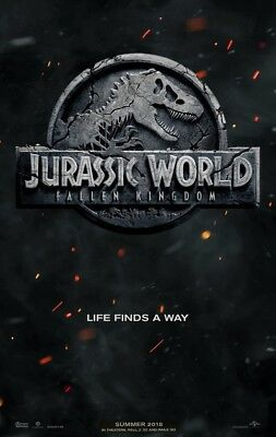 JURASSIC WORLD FALLEN KINGDOM MOVIE POSTER 2 Sided ORIGINAL Advance  27x40