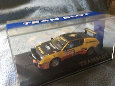Team slot Renault alpine a310 in 1:32