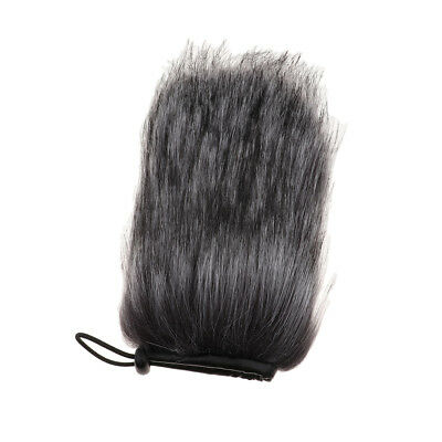 Outdoor Mic Fur Windscreen Cover Windshield Muff for Lapel Microphone