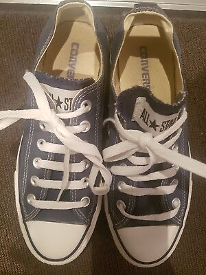 Converse Navy Chuck Taylor Sneakers Size 7.5