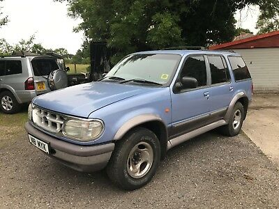 Ford Explorer Auto Spares Or Repairs Runs Well Tidy No Reserve