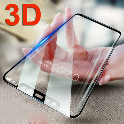 3D Full Cover Tempered Glass Film for Nokia 7 Plus/X6/6 2018 9H Screen Protector