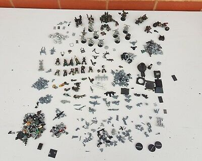 Massive Chaos Space Marines - Bits Lot - TOO MUCH TO NAME - Warhammer 40k