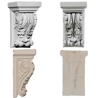 Small Antique Carved Corbel Shelf Mantle Bracket Fireplace Dining Decorative