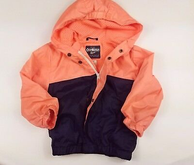 Toddler Boys Oshkosh Lightweight Jacket Size 3T Spring Coat Cute
