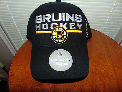 check out 6e3eb 6f906 FitMax 70 Boston Bruins NHL HOCKEY Hat Cap Fitted S M REEBOK Center ICE NEW