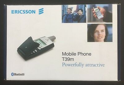 Ericsson T39m Flip-phone, boxed, working, with accessories, EE