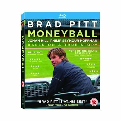 Blu-ray - Moneyball - Sony Pictures He - Brad Pitt, Jonah Hill, Philip Seymour H