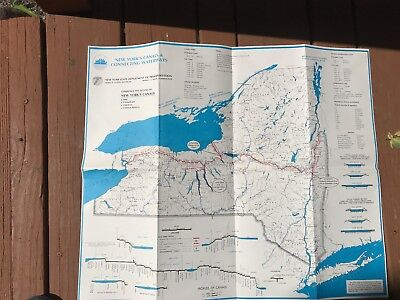 New York Canal System Map and Booklet