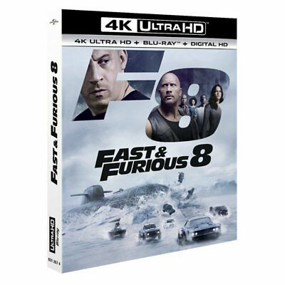Blu-ray - Fast and Furious 8 - Vin Diesel, Jason Statham, Elsa Pataky, Kristofer