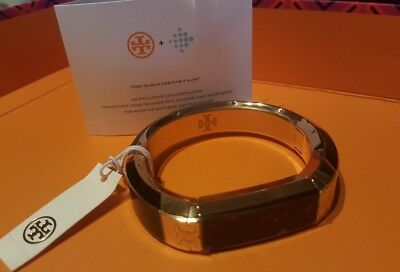 2b4062c79e99 Tory Burch FITBIT BRACELET for ALTA   ALTA HR Tortoise Tory Gold (New  withTags