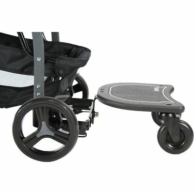 Red Kite Junior Rider Buggy Stroller Board Adjustable In Black Brand New