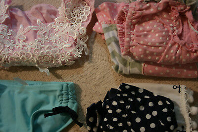 baby girl clothes size 3-6 months lot 20 pieces Swim wear Carters gerber