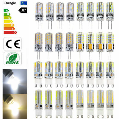 10x 8x G9 G4 Ampoule LED 2W 3W 6W 9W Lampe Blanc Froid Super Lumineux LED Bulb