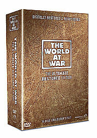 The World at War DVD Digitall The Ultimate Restored edition Brand New sealed