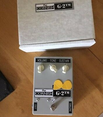 Pete Cornish G2 Overdrive Distortion Pedal