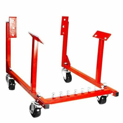 Engine Cradle Stand Chevrolet Chevy Chrysler 1000lb with Dolly Wheels