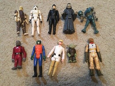 Vintage Star Wars Lot Of Six Including Stormtrooper, Bossk and More