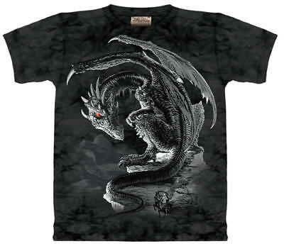 Bravery Misplaced Fantasy Hand Dyed Adult T-Shirt, NEW UNUSED