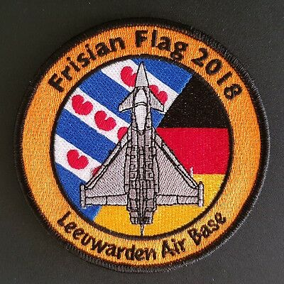 "TaktLwG 71 Official ""Frisian Flag 2018"" Patch"