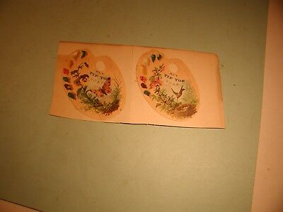 """2 Late 1800's """" Tip Top Soap  """"  Used  Trade Cards"""