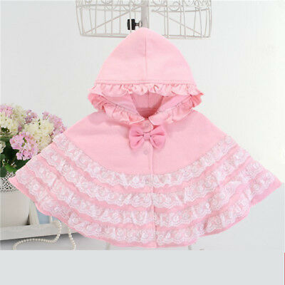 1pcs toddler Kids Baby clothes baby girls spring autumn cotton girls cape coat