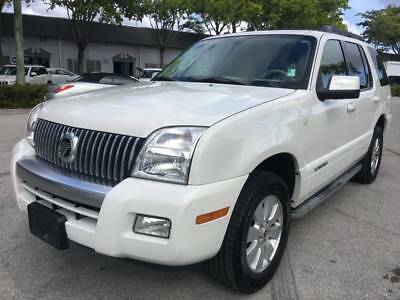 2010 Mercury Mountaineer  2010 Mercury Mountaineer Base 4dr SUV 165712 Miles Cream SUV 4.0L V6 Automatic