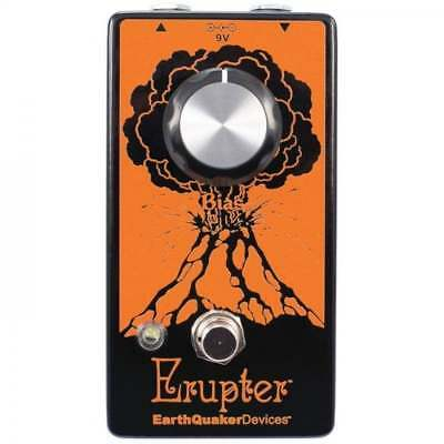EarthQuaker Devices Erupter Fuzz Pedal - Brand New - Official Dealer