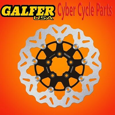 FLOATING FRONT DF835CW-B GALFER ROTORS FOR V-TWIN