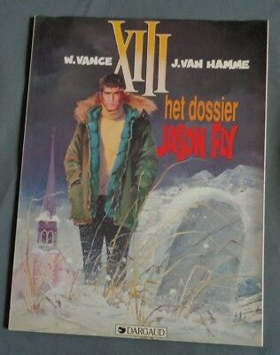 XIII 6 Het dossier Jason Fly 1990 DARGAUD stripboek stripalbum strip album comic