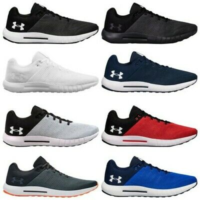 2019 Under Armour Mens Micro G Pursuit Trainers - New UA Gym Running Shoes
