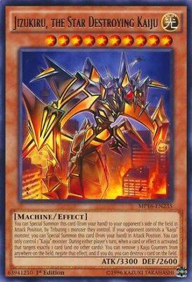 Jizukiru the star destroying kaiju Yugioh BOSH-EN088 1st Edition Near Mint