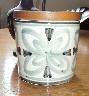 Vintage Cinque Ports Pottery Rye Lidded Container