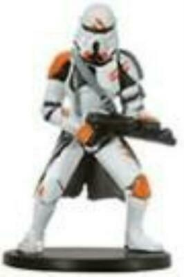 Star Wars Miniatures Champions of the Force 38/60 Utapau Trooper