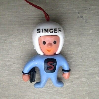 porte cle mascotte singer machine a ecrire keychain french vintage ancien old
