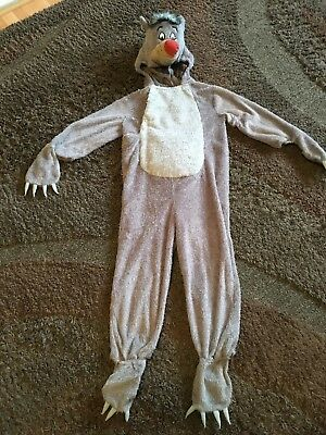 Disney Baloo The Bear Outfit 5-6 Years Old