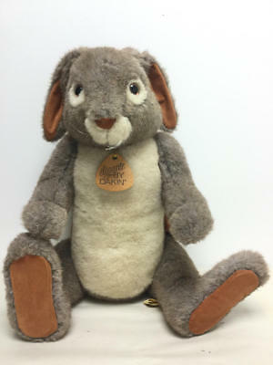 "1983 Dakin Elegante Uncle Jacques Plush Jointed Rabbit/bunny, 21 1/2"" Tall"