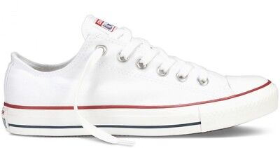 Converse All Star White Low Cut Chuck Taylor Shoes Sneakers Unisex.