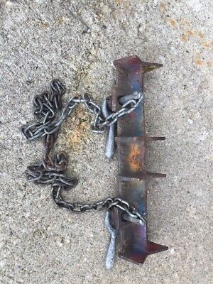 Jewel Company Model No 1D Pipe Welding Chain Vise 1 D