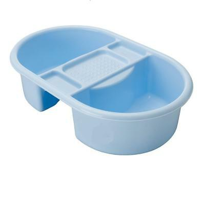 Strata Deluxe Blue Baby Boys Bathing Top and & Tail Bath Bowl