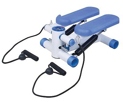 Mini Stepper with Training Ropes & LED Display – Legs Arms Up-Down Thigh Toner