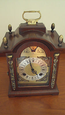 Franz Hermle Carriage Mantel Clock