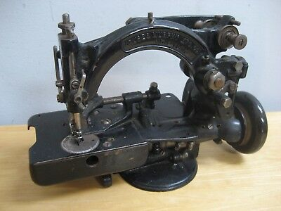 Antique Kruse & Murphy Mfs Company Industrial Sewing Machine Used As Is Parts
